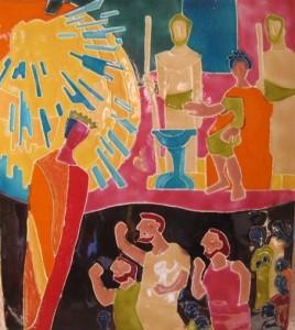 Jésus rencontre Pilate