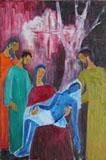 Descente de croix Hildegard Michaelis